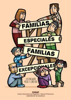 comic-cudap-familias-especiales by Marta Montoro Cano via Slideshare Spanish Words, Spanish Language, Blended Learning, Aspergers, Teaching Spanish, Super Powers, Diversity, Inspirational Quotes, Humor