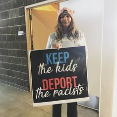 #trumpshutdown because he is a #racist. #savethekids #deporttheracist Text p2p to 788683 to register to vote!  #dumptrump #womensmarch #PowerToThePolls #lasvegas #votenevada #gotv #rockthevote #midtermelection #election2018 #feminist #feminism #womensrightsarehumanrights #immigrantrightsarewomensrights #savedaca #savethedreamers #dreamers #daca #shutdown #shitholepresident