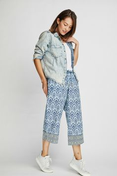 The Desi-print Punjammies® are ethically-made loungewear with an indigo  damask 1f4aa32b1