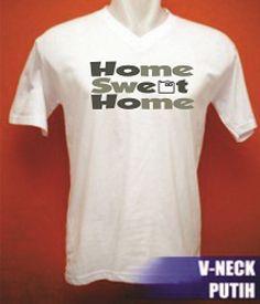 Tshirt V-Neck Say it-3 online tshirt,kaos,polo,raglan,distro,sablon,coreldraw,photoshop