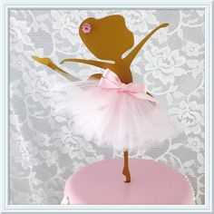 Ballerina Cake Topper - Metal Ballerina - Ballerina Wall Hanging - Ballerina Party Decorations - Ballerina Party Decor - Ballerina Birthday