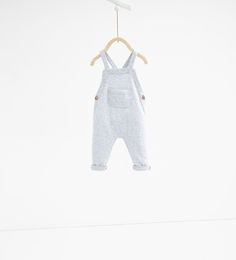 Double faced dungarees - MINI | 0 - 12 months - NEW IN | ZARA United States