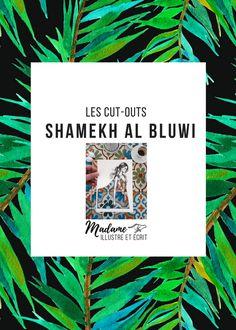 SHAMEKH & le cut-out — Madame Illustre et Écrit