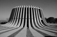 Yad Kennedy, John F. Kennedy memorial, near Jerusalem, IL by David Resnick (1966)
