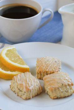 Lemon Chia Scones