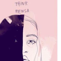 Judit Garcia-Talavera illustration Detalle de la ilustración para el primer número del fanzine de @lacanariada #fanzine #illustration #illustrator #art #canarias #lacanariada #drawing #draw #girl #pink #picoftheday