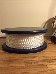 My nautical wedding theme cake stand