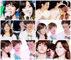 EXO's Baekhyun + SNSD's Taeyeon = BaekYeon or ByunTae. They're a real, confirmed couple! :] Baekhyun got his dream girl! #exo #snsd