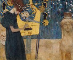 Afbeelding Gustav Klimt - Musik