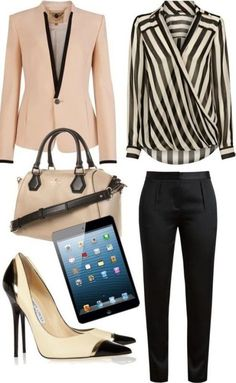 80 Elegant Work Outfit Ideas in 2019 - Work Outfits Women Cute Work Outfits, Office Outfits, Mode Outfits, Classy Outfits, Chic Outfits, Fashion Outfits, Outfit Work, Formal Outfits, Office Attire