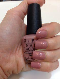 OPI - Dulce de Leche Beautiful darker nude color.