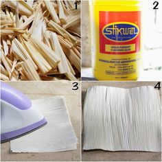 How to make calla lily flowers using dried corn husks4106