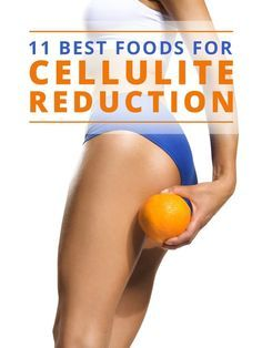 11 Best Food for Cellulite Reduction- Find out what they are here! #cellulite #getridofcellulite