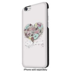 ITSKINS - Hamo Carrying Case for Apple® iPhone® 6 - White - Larger Front