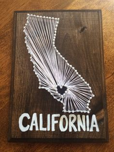 California string art.