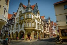 Quedlinburg is a town situated just north of the Harz mountains, in the district of Harz in the west of Saxony-Anhalt, Germany.