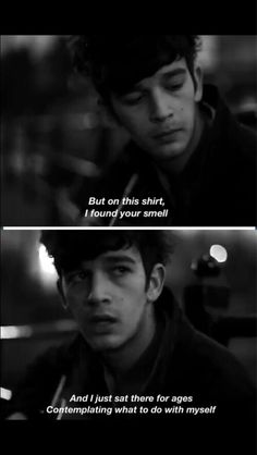 Find images and videos about Lyrics, the 1975 and matt healy on We Heart It - the app to get lost in what you love. Music Quotes, Music Lyrics, My Music, The 1975 Lyrics, The 1975 Quotes, The 1975 Me, Matthew Healy, The Wombats, Music Stuff