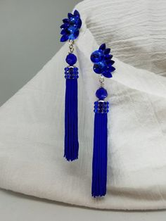 Ooohhhh! Get them before they're gone! Excited to share the latest addition to my #etsy shop: Fringe Earrings, Ballroom Dance, Ballroom Jewelry, Competition Jewelry, Tassel Earrings, Swarovski Crystal Earrings, Blue Fringe Earrings #fringeearrings #ballroomdance #ballroomjewelry #competitionjewelry #ballroomcompetition #blue #earrings #dangleearrings https://etsy.me/2IGOBQf