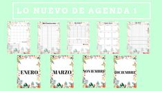 Agenda 2019 Descargable GRATIS 1 Bullet Journal, Blog, Free, Dns, Anonymous, Public, Study, Journaling, Vestidos