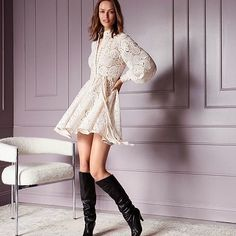 Zimmermann's 'Amari' mini dress has the kind of relaxed, feminine style for which the Aussie brand has become famous. Fashion Design For Kids, Chiffon Maxi Dress, Leopard Dress, Embroidery Dress, Feminine Style, Beautiful Gowns, Short Dresses, Outfits, Wednesday
