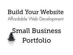 Cover Images for Build Your Website's small business portfolio Business Website, Web Development, Cover