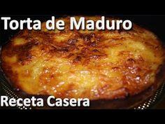 Como Hacer Torta de Maduro Receta Casera - Recetas de tortas faciles - YouTube