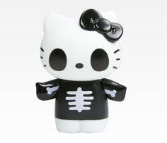 hello kitty figurines | Hello Kitty Collectable Figurine: Skeleton | CRAZY ABOUT HELLO KITTY ...