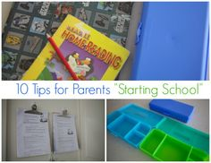"""Ten Tips for Parents """"Starting School"""" - Style & Shenanigans"""