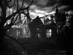 """Das Herrenhaus Manderley aus der Daphne du Maurier-Verfilmung """"Rebecca""""."""