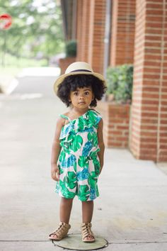 Tropical Beauties - Baby Shopaholic curly kids natural hair