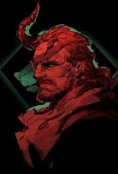 If only demon snake looked like this instead of being bathed in blood... #MetalGearSolid #mgs #MGSV #MetalGear #Konami #cosplay #PS4 #game #MGSVTPP
