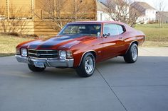 1971 Chevelle SS.