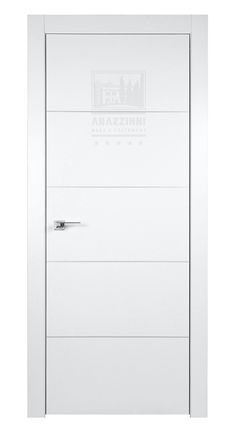 Arazzinni SmartPro 4H Polar White 8-ft Modern Interior Door (Interior Doors)