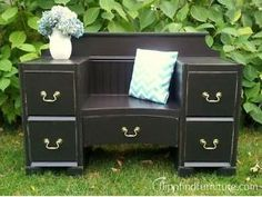 Flip n Find Furniture – From trash to cash one project at a time Diy Furniture Redo, Painted Furniture, Furniture Ideas, Cash First, All About That Bass, The Balloon, Diy Painting, Balloons, Projects