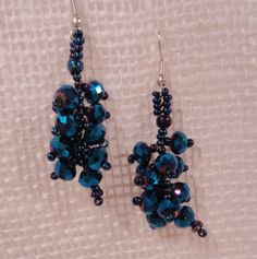 Earrings Sparkling Eclectic Cobalt Blue by EducationAndMore, $12.00Beautiful Fair Trade, Eclectic Cobalt Blue Sparkling Dangle Cluster Earrings --- for the Bridal party, Prom, black tie, Bridesmaids and other occasions.We have several colors of this earring so be sure to check our other listings. *Cobalt Blue Sparkling Glass Beads * 1 1/2 inches in length * Education And More is a proud member of the Fair Trade Federation