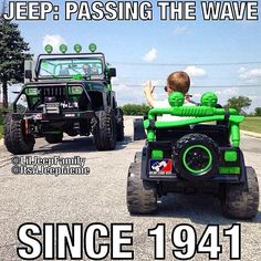 Big shoutout to for making this unforgettable photo. He& such an awesome father. You guys don& even understand how honored I am to have my decal on his and his sons Jeep! Along side the logo too! Jeep Humor, Jeep Funny, Jeep Quotes, Road Quotes, 4x4, Jeep Baby, Badass Jeep, And So It Begins, Jeep Accessories