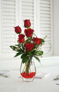 filler flower for dozen roses - Google Search