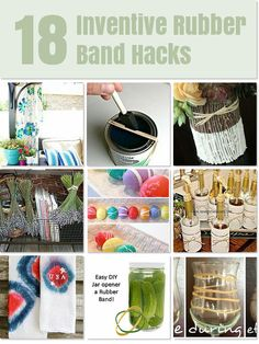 18 Smart and useful Rubber Band Hacks
