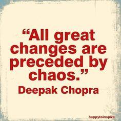 Juist wanneer je denkt dat je helemaal klem zit ontstaan vaak de beste inzichten en is er kans op verandering