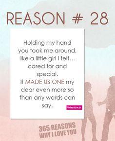 Reasons why I love you #28