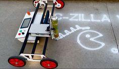 CNC Sand and Spraycalk drawmachine