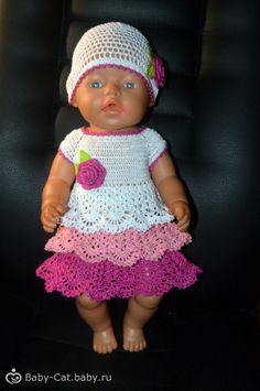 Вяжем наряд для куклы Beby Born