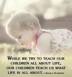 It's absolutely amazing what we can learn from our children! ♡