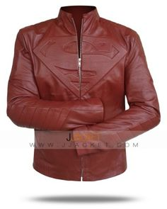 Buy this #Superman Leather Jacket worn by #Clark Kent in Huge Discounted Price at Jjacket. Avail this Amazing Offer!!!