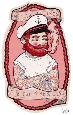 Skipper Murray | illustration by Carla McRae