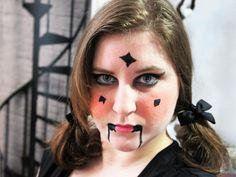 beauté-make up-maquillage-poupée-halloween