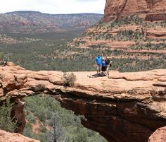 Devil's Bridge Trail in the Coconino National Forest, Northern Arizona, USA.