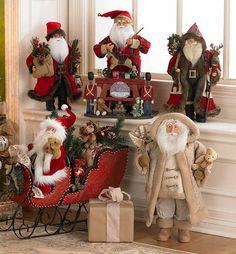 Santa Collectibles from Tuesday Morning