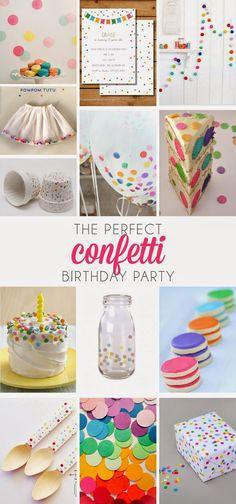 Create the perfect confetti party!