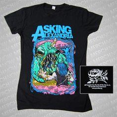 Asking Alexandria Cave Monster Shirt